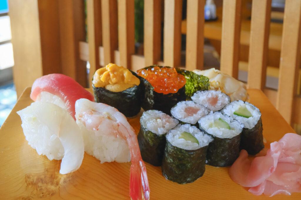 桃寿司のお寿司