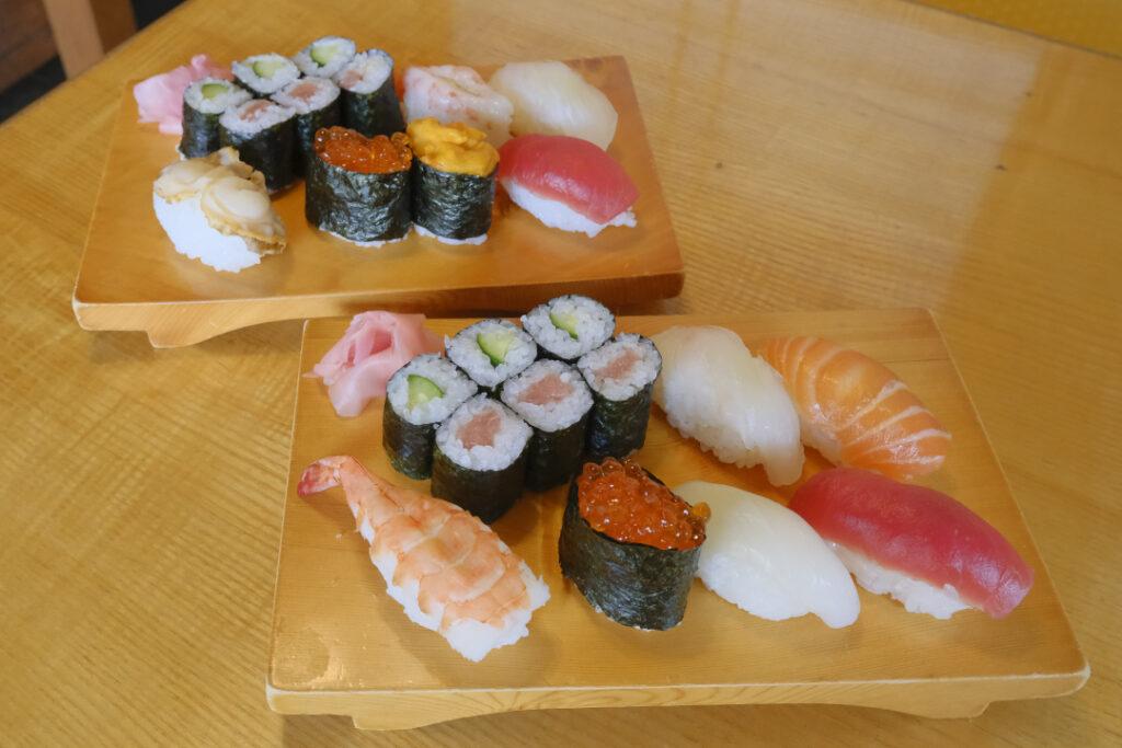 桃寿司の寿司