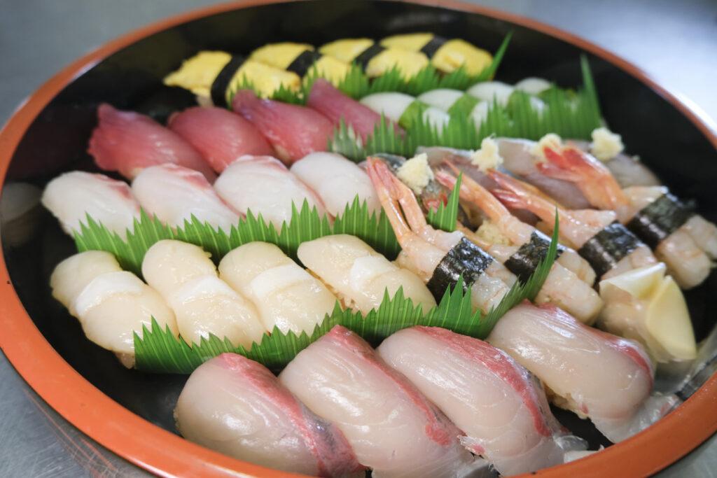 丸山酒店のお寿司
